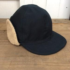 HIGHER(ハイヤー) HT18028 CORDLANE HUNTER CAP 日本製 ネイビー