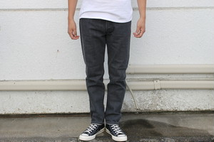 WORKERS / Lot 802, Washed Black Jeans