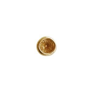 シイタケピアス シングル ゴールド