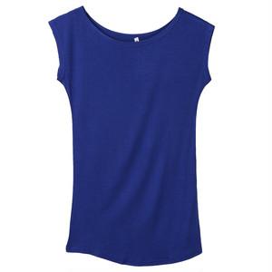女の子女子oネックノースリーブロングTシャツトップス