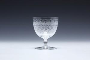 ②バカラ ローハン 白ワイングラス  Baccara Rohan White Wine Glass