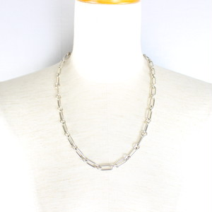 GUCCI SILVER CHAIN NECKLACE MADE IN ITALY/グッチシルバーチェーンネックレス