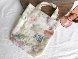 Upcycled CLOTH bag ー lemon flower ー