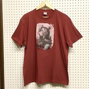 COUNTDOWN T☆B  「Amabie」(バーガンディ)Tシャツ (Lサイズ)