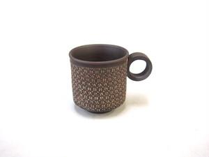 【常滑焼】マグカップ(小)/白・小花柄