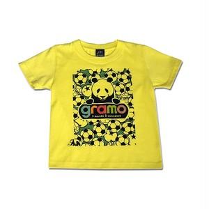 キッズTシャツ「BALL BOY」(ライトイエロー/KT-003)