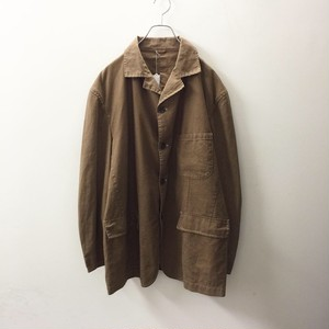 HIROKO KOSHINO ビッグシルエット ジャケット ブラウン色 size 3L メンズ古着