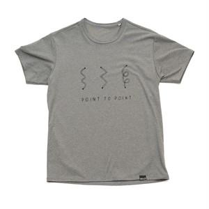 SALLYS オリジナルTシャツ「Point to Point」Men's
