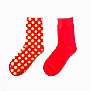 METAL SOX (1.5DOT) RED X GOLD
