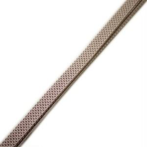 帯締め 帯〆 三分紐 正絹 手組 帯留め用(ブラウン系)日本製【ゆうパケットOK】 [260266]