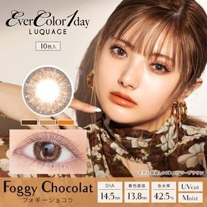 エバーカラー ワンデー ルクアージュ(Ever Color 1day LUQUAGE)《FOGGY CHOCOLAT》フォギーショコラ[10枚入り]