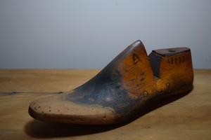 アンティーク 靴 木型 / WOODEN SHOE MOLD(3138)
