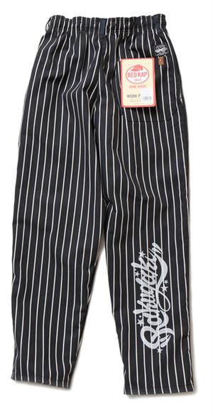 RAKUGAKI x RED KAP Stripe Baggy Pants