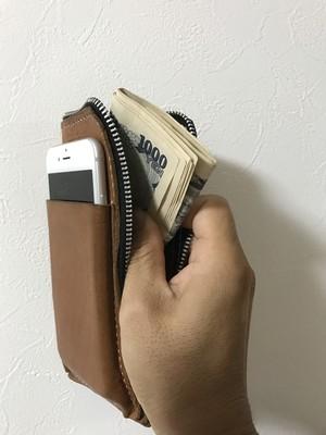 iPhone case L 型財布