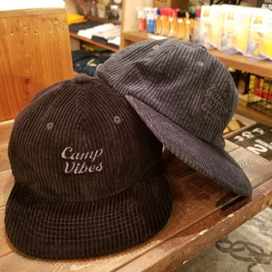 POLER OUTDOOR STUFF ポーラー CAMP VIBES CORDUROY CAP