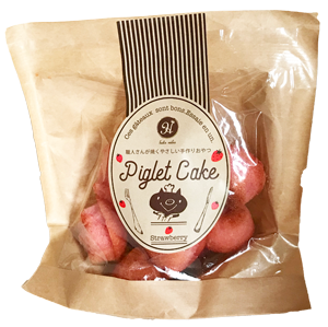 ピグレットケーキ イチゴ
