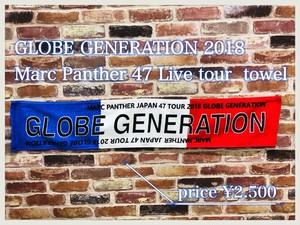 GLOBE GENERATION 1st SEASON タオルマフラー