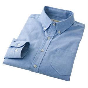 ストレッチオックスシャツ ブルー 4471121