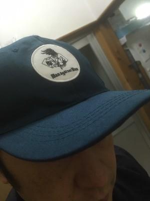 M.A.N.VS.M.A.N BB hat (Bleu marine)