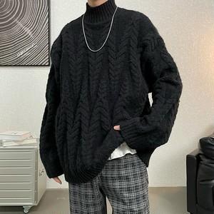 ケーブルタートルネックセーター #BL7306