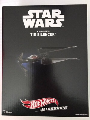 2017年SDCC Exclusive Mattel Tie Silencer Star Wars Kylo Ren Starship Hot Wheels