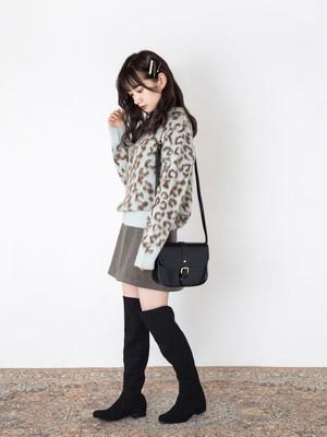 Lovely leopard knit  [B-9]