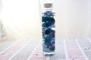 ハーバリウム ブルー