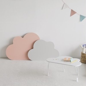 cloud holding table 2size 3colors / クラウド 雲 折り畳み式 テーブル 韓国 北欧