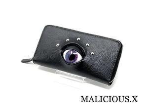 eye  wallet / violet × blue