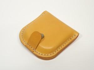ヌメ革コインケース「フタトレー型」