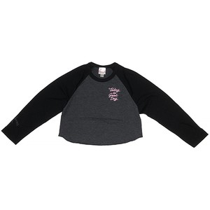 TODAY IS GOOD DAY CROPPED 3/4 SLEEVE RAGLAN(アウトレット)
