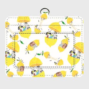 トコロコムギのフルーツアニマル・レモンパスケース