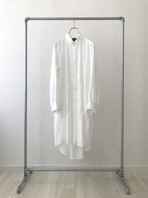 """Eve""  BLANK205 Shirt One-Piece (White)"