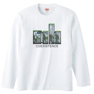 [ロングスリーブTシャツ] coexistence