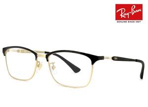 レイバン 眼鏡 メガネ rx8751d 1198 54-17 チタン フレーム 54mm ブロー タイプ スクエア 型