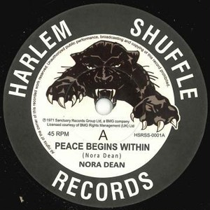 NORA DEAN『 PEACE BEGINS WITHIN 』