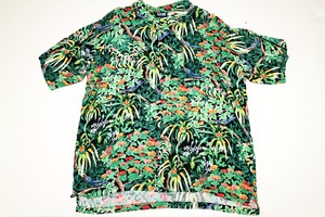 USED BOTANICAL ALOHA SHIRT