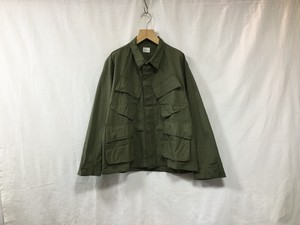 "fifth""1960-70'S DESD STOCK US JUNGLE FATIGUE SHIRT"""