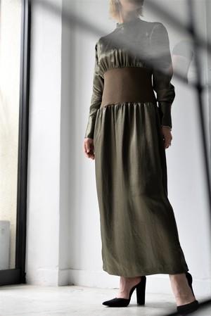 SATORU SASAKI / waist rib dress