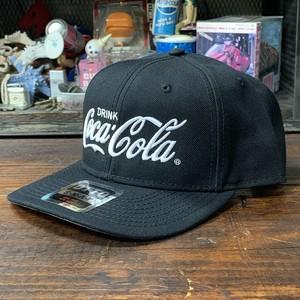 コカ・コーラ x OTTO・ウールブレンド・ツイルキャップ・ブラック