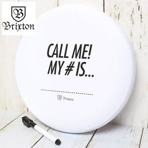 [メール便対応] BRIXTON ブリクストン CALL ME DISC フリスビー