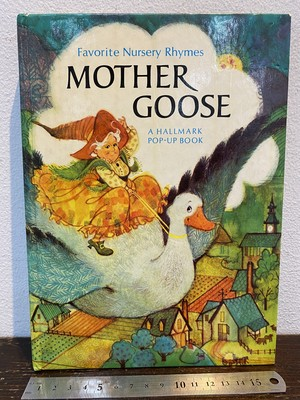 70'S  MOTHER  GOOSE  A pop up book しかけ絵本