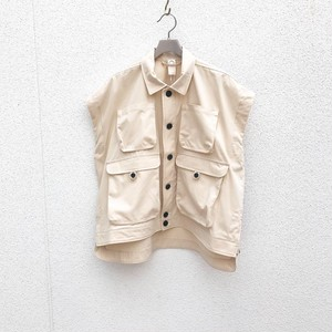 O project sleeveless denm jacket