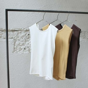 【CURRENTAGE】Jersey Twist Nosleeve
