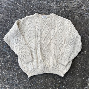 """old knit """"made in england"""""""
