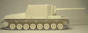 35-0080 T-100Y Self-Propelled Gun 1/35レジンキット