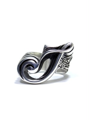 alphabet ring#J (silver925) - アルファベットモチーフ リングJ-
