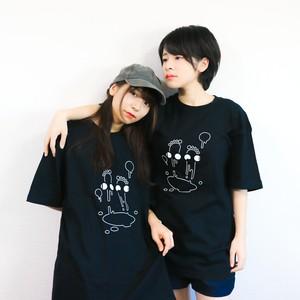 どーぷちゃん デザインTシャツ (黒)