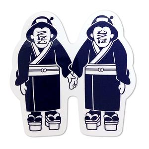【NE-20017】ステッカー:双子