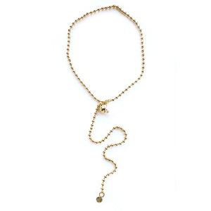 MOON BALL CHAIN /Necklace  Gold